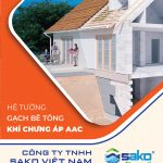 Catalogue|Brochure gạch nhẹ AAC | SAKO VIETNAM – Hotline: 0926 422 422